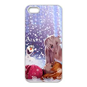 ORIGINE Frozen Princess Elsa Anna Olaf Cell Phone Case for Iphone 5s