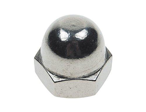 316 Stainless steel 50 Piece package Donsky 1//4-20 Acorn Cap Nuts