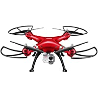 CHIMAERA Red Syma X8HG New Altitude Hold Mode Headless RC Quadcopter With 8MP Camera