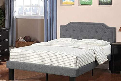 Poundex PDEX-F9346T Beds, Twin, Blue Grey