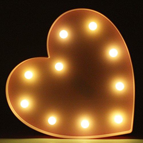 Pink Heart Led Lights