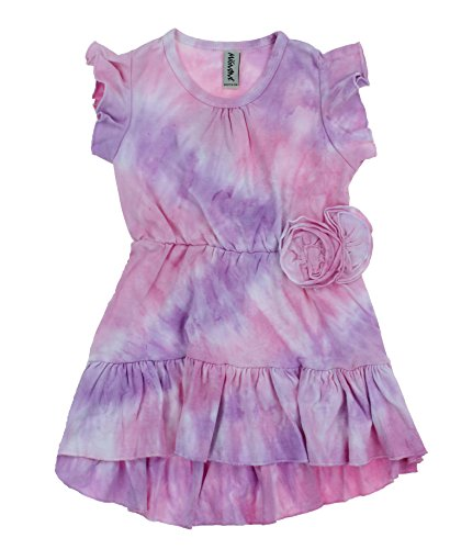Mignone Girl's Batik Dress Lilac/Pink 7