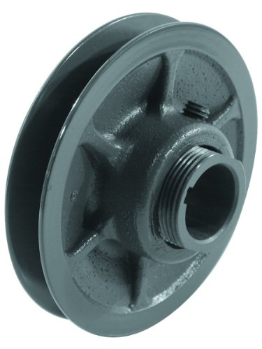 Browning 1VP44X7/8 Variable Pitch Sheave, 1 Groove, Finished Bore, Cast Iron Sheave, for 3L, 4L or A, 5L or B Section Belt