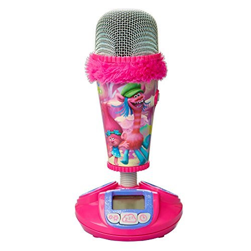 Trolls Kids Fun Kids Alarm Clock -  Microphone