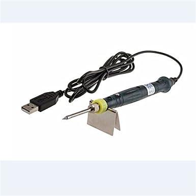 MagiDeal Mini Portable USB 5v 8w Eléctrico Accionado Interruptor de Tacto Pluma de Soldador: Amazon.es: Electrónica