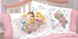 Disney Princess Rose Garden Dreams Standard Pillowcase