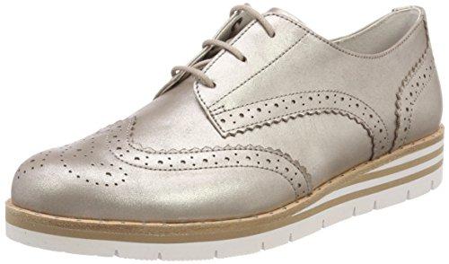 Sport nieten Derbys Beige Femme Gabor S Muschel Shoes Comfort Otqw88E