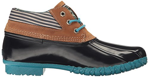 Bass Dorothy Women's Navy Navy Co H Rain Tan Boot Stripe amp; G 5wqSOWXR