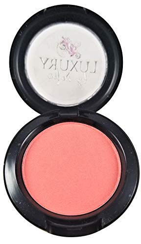Luxury By Sofia All-Natural Blush | Organic &Natural Ingredients, Highly Pigmented, Smooth Blush Lasts All Day | Highlight Your Face With A Micro-Slip Powder That Glides On The Skin (Lily Pink)