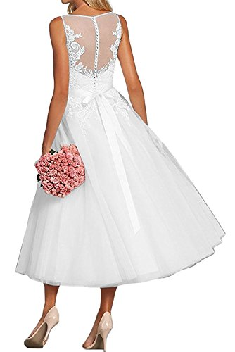 La Ballkleider V Damen Wadenlang Blau Ausschnitt Braut Abendkleider Promkleider Himmel Linie Pink A mia Festlichkleider Rock Spitze r8Cxr
