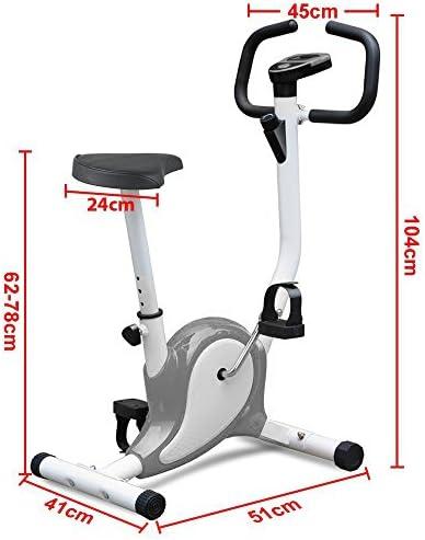 Tinkertonk - Bicicleta estática para spinning, ejercicio aeróbico ...