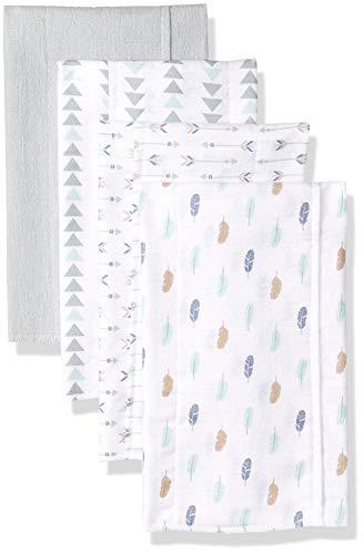 Luvable Friends Unisex Baby Cotton Flannel Burp