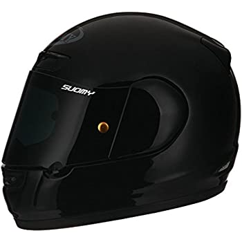 Suomy Apex Gloss Black Full Face Helmet Large