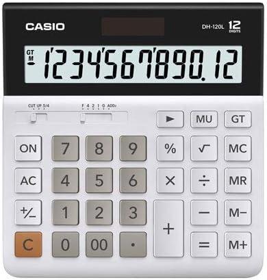 カシオ 卓上電卓 12桁デスクタイプ DH-120L-N