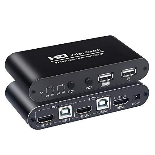 2 Ports HDMI KVM