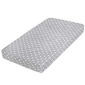 Milliard Premium Memory Foam Hypoallergenic Toddler Bed and Next Stage Baby Crib Mattress with Waterproof Cover- 27.5 inches x 52 inches x 5.5 inches 5