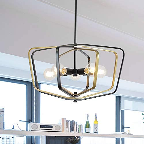 5 Light VINLUZ Farmhouse Pendant Lighting