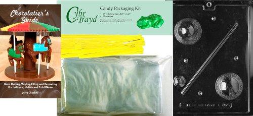 "Cybrtrayd ""Medium 3D Crystal Egg"" Easter Chocolate Candy Mol"