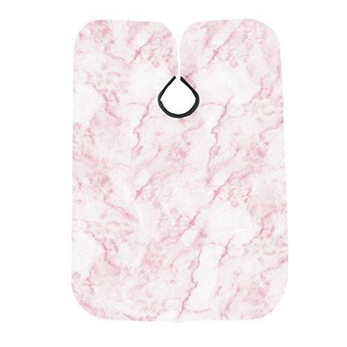 Betty Dain Marble Print Shampoo Cape, Rose Quartz from Betty Dain