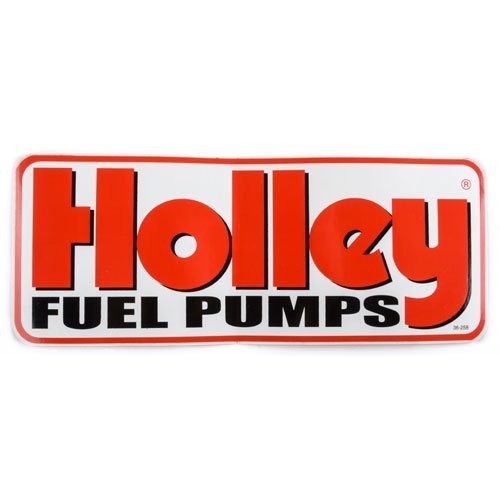 Holley 36-258 Fuel Pump Decal - Heads Holley Cylinder