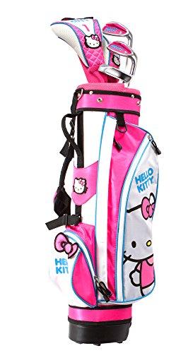 Hello Kitty Sports Girls Go Junior Golf Set 9-12 Years