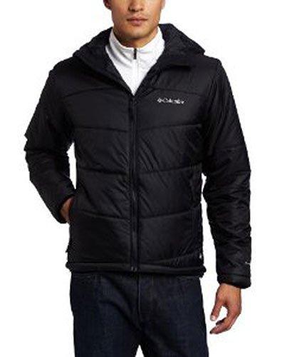 Columbia Shimmer Me Timbers II Hooded Big Jacket, Black, 2X
