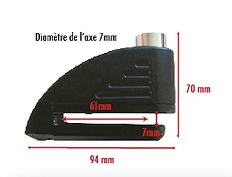 Beeper AN-BCH100 Bloque Disque Alarme avec Chaine