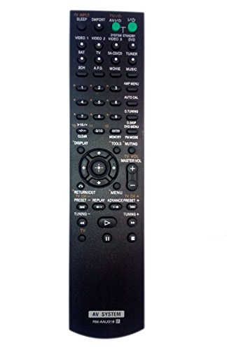 RM-AAU019 Remote Control Replaced for Sony RM-AAU017 HTD-DW685 STRDG510 STR-K1600 Home Theater Audio/Video Receiver AV System -  JustFine, LYSB01M0G578B-ELECTRNCS