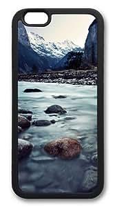 Lauterbrunnen Switzerland Custom iphone 6 plus Case Cover TPU Black