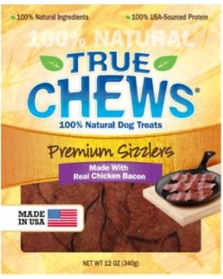 Premium Bacon Chicken Sizzlers Dog Treat Chews 12 Ounces Made In Usa from TRUE CHEWS