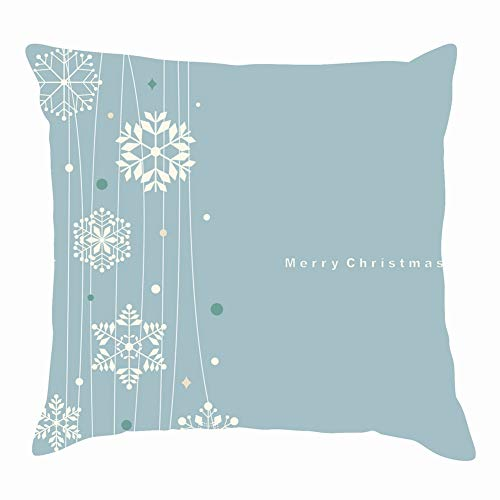 - Mblue Decorative Square Throw Pillow Covers Set Snowflakes Holidays Snowflake Holidays Illustrations Clip Art Snowflake Illustrations Clip Art Cushion Case 18 x 18 Inch 45 x 45 cm