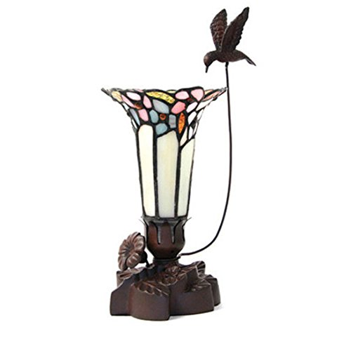 OneWorld Memorials Hummingbird Glass Keepsake Urns - Extra Small Holds 1 Cubic Inch of Ashes - Pink Cremation Urn for Ashes