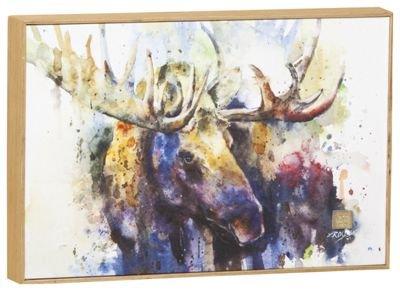 Big Sky Carvers Marsh Bull Moose Wall - Wall Hanging Moose