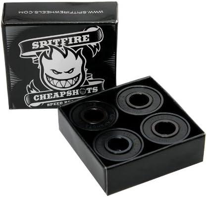 SPITFIRE SPEED BEARINGS CHEAPSHOTS Skateboard Bearings 8 Pack