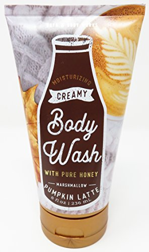 Bath & Body Works Marshmallow Pumpkin Latte 8 Oz Creamy Body (Creamy Marshmallows)