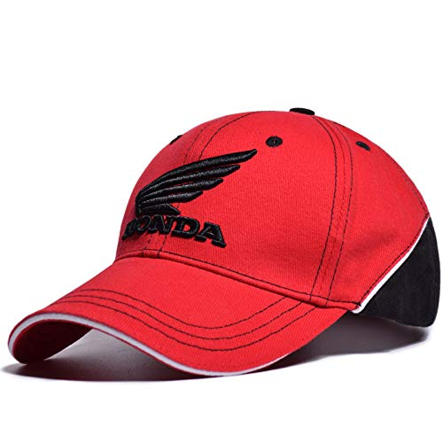 (LOVEBLING Blinglove New Merchandise Racing Corporation Cap Baseball Hat Red)