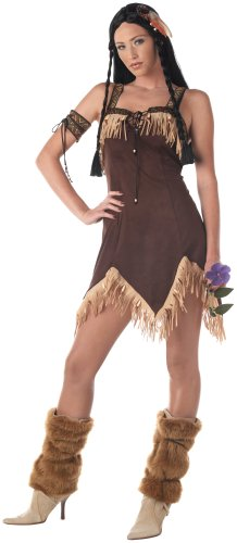 California Costumes Women's Adult- Indian Princess, Brown, S (6-8) Costume