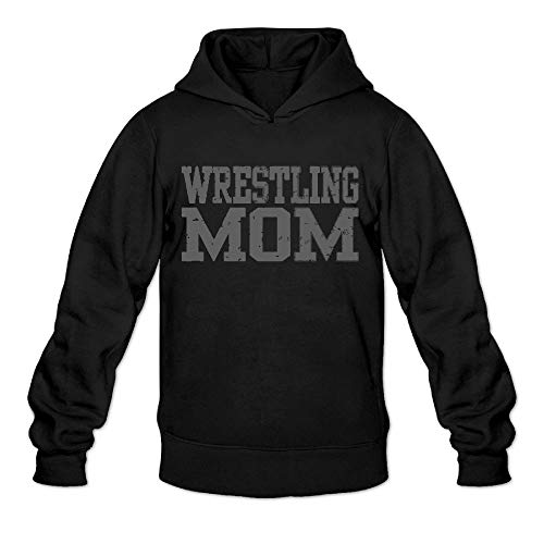 Aiw Wfdnn Men Hoodie Sweatshirt Trendy Pullover Hooded Wrestling Mom 3 by Aiw Wfdnn