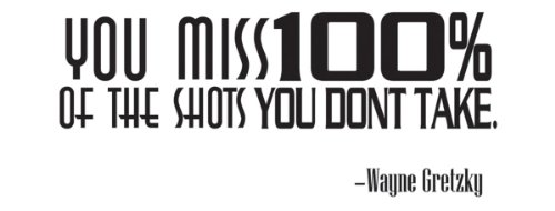 You miss the shots you don't take Vinyl Wall Decal Sports Quote inspirational wall art quotes
