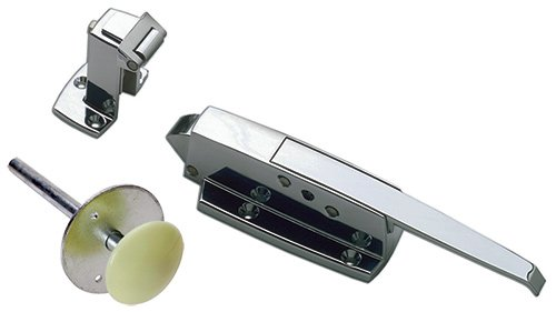 COMPLETE LATCH HANDLE KIT - KEIL/CHG - W19 - Flush (Sign Satin Door)