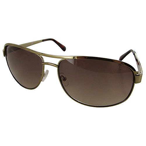 GUESS  Men's GU6874 Gold/Gradient Brown One - Guess Sunglasses Polarized