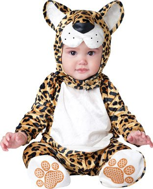 Leopard Costume Toddler (InCharacter Costumes Baby's Leapin' Leopard Costume, Yellow/Black, Large)
