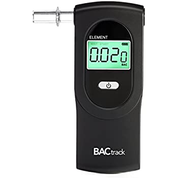BACtrack Element Breathalyzer | Professional-Grade Accuracy | DOT & NHTSA Compliant | Portable Breath Alcohol Tester for Personal & Professional Use