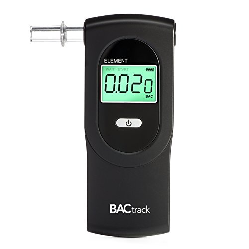 (BACtrack Element Breathalyzer | Professional-Grade Accuracy | DOT & NHTSA Compliant | Portable Breath Alcohol Tester for Personal & Professional Use)