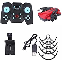 Rucan 2.4GHz Mini Foldable Quadcopter Pocket Remote Control Helicopter RC Drone (C)