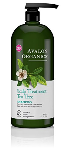 Avalon Organics Shampoo, Scalp Treatment Tea Tree, 32 Fluid Ounce