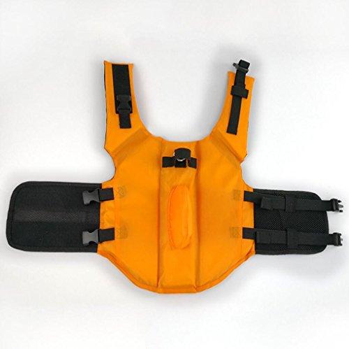Conservatore Arancione Cani Pet Salvataggio Jacket Orange Saver Per Giubbotti Di Blu Tiantai Riflettente Xs Life Vest Floatation Dog Cane Cwq0xpR8a