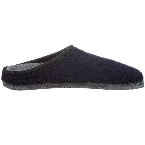 Kitz - Pichler Biofit 47133 - Pantuflas de tela unisex Azul (Blau/Nachtblau)
