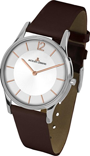 Jacques Lemans London 1-1851F Wristwatch for women Flat & light