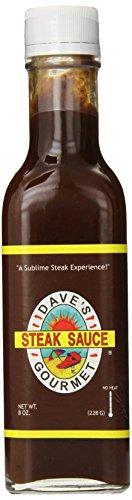 Dave's Gourmet Sauce, Original Steak, 8 Ounce Blended Steak Sauce